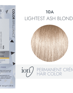 Ion  lightest ash blonde permanent creme hair color by brilliance sally beauty also rh sallybeauty