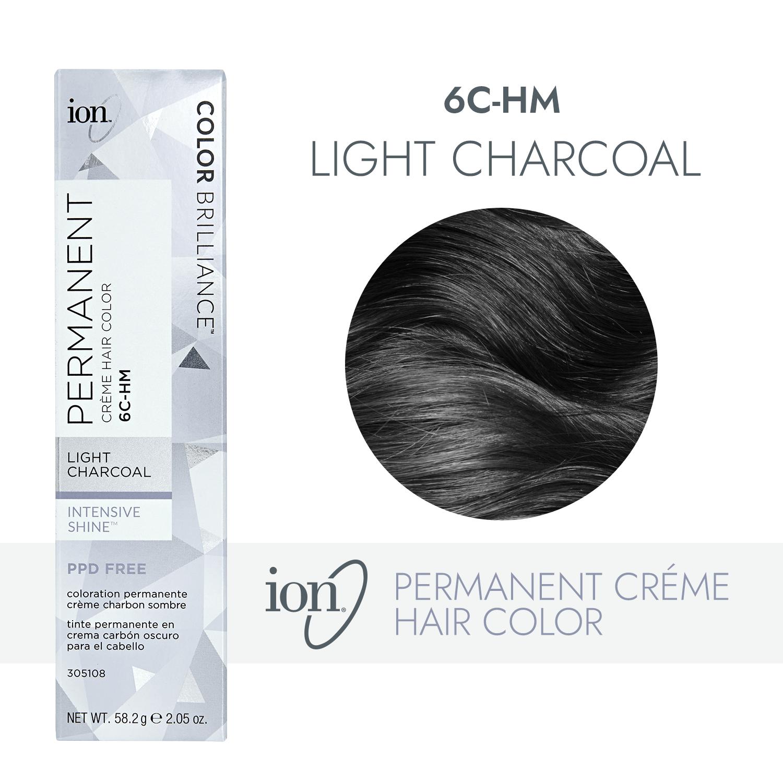 Ion Color Brilliance Rock Star Shades 6c Hm Light Charcoal Permanent Creme Hair Color