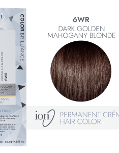 Ion wr dark gold mahogany blonde permanent creme hair color by brilliance sally beauty also rh sallybeauty