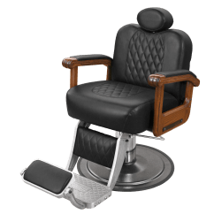 Professional Barber Chair Reviews Home Depot Lounge Chairs Cavalier With Oak Arms