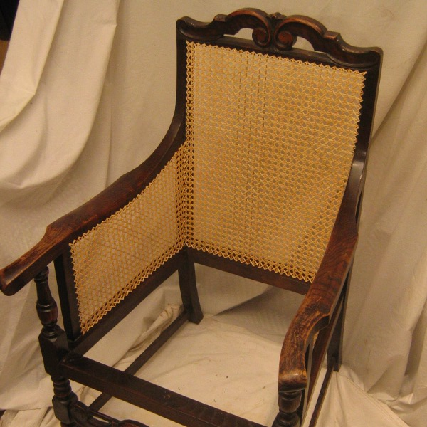 how to cane a chair covers for hire parties seat repair arm