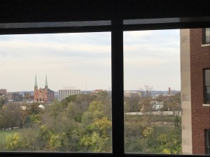 Hospital room view