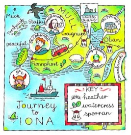 iona and mull map