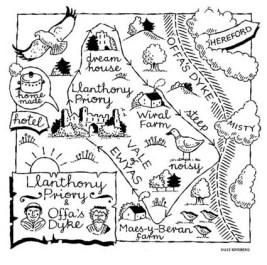 offa's dyke walk map