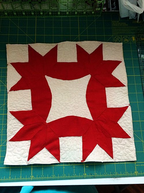 Vintage Quilt Block 4