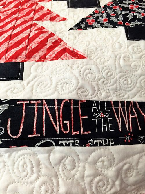 Chalkboard Christmas Table Topper 7