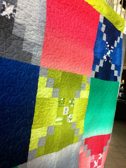 Color theory quilt 10