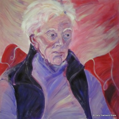 Dad after the Lucian Freud by SAL