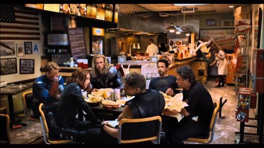 iron man, hulk, captain america, thor, dubai shawarma