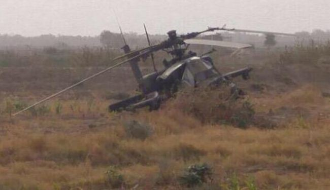 وسط خيانة ملحوظة .. الحوثيون يسقطون طائرة أباتشي للتحالف في الحديدة ويطلقون باليستي يعترضه التحالف على ذوباب