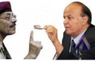 في الوقت الذي يتحفل الحوثي وصالح بذكرى سيطرتهم على صنعاء ,,خلافات عميقة تطفو على السطح بين هادي والأحمر