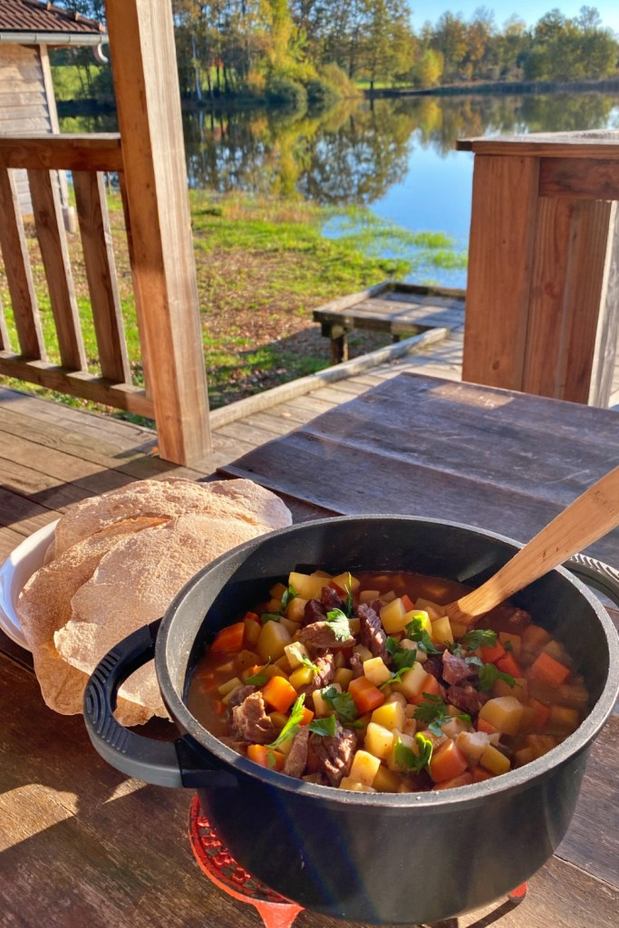 """The """"Lapskaus"""" or beef and vegetable stew can be made outdoors over open fire but it is also perfect as a family meal at home during autumn and winter."""