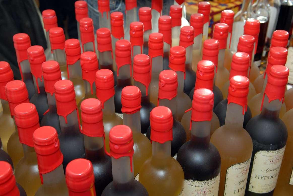 Les liqueurs artisanales