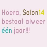 Salon14 bestaat 1 jaar