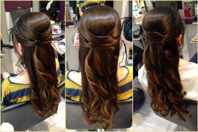 holy communion and confirmation hair by salon 2 sligo   salon 2