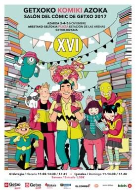Cartel Salon del Comic de Getxo