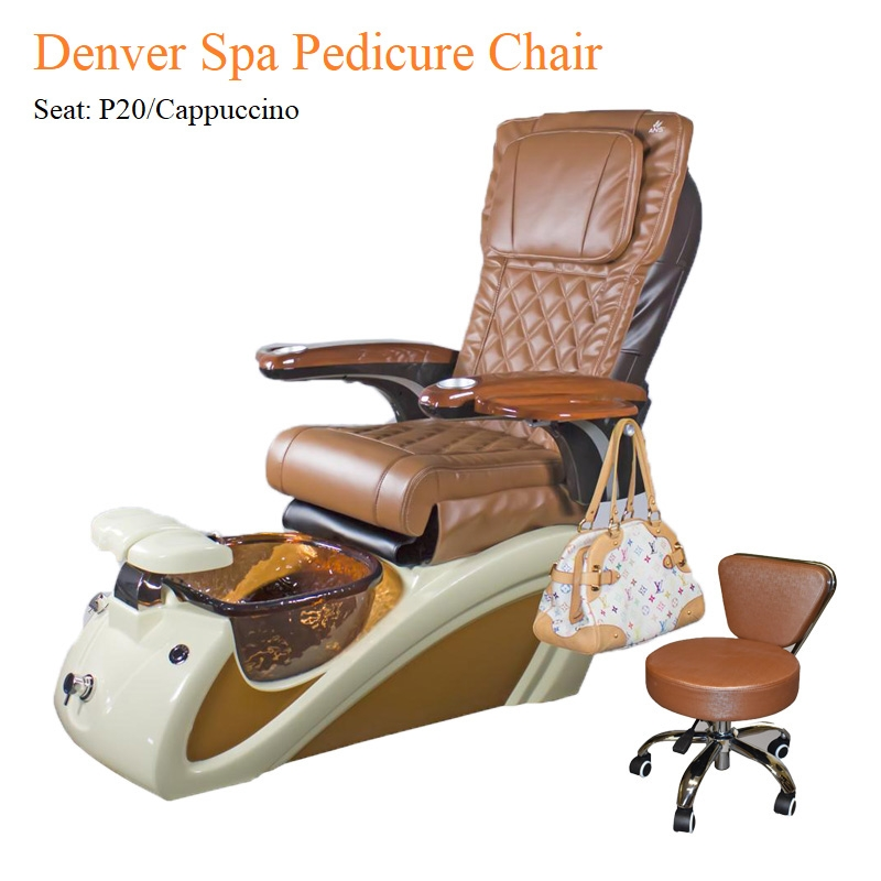 spa pedicure chair stool desk denver with magnetic jet high quality