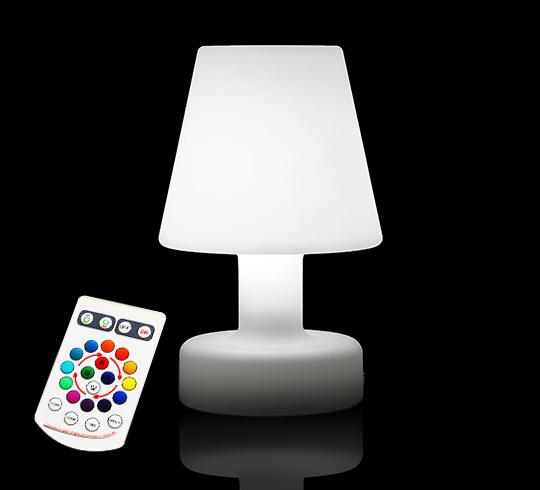 Lampe De Table LED H25cm Sans Fil Rechargeable 49 Salon
