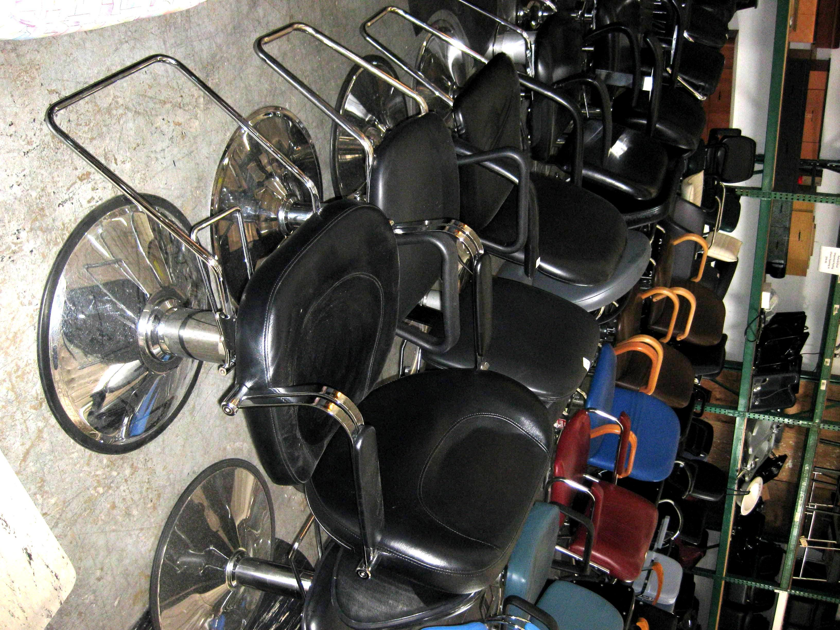 salon chairs for sale wooden rocking chair cushions used equipment most furniture is not shippable