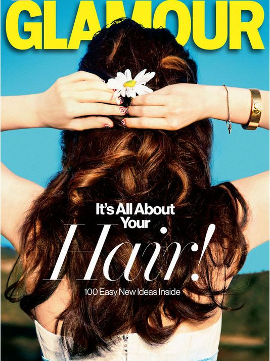 Tom Bachik's nail art on Glamour Magazine