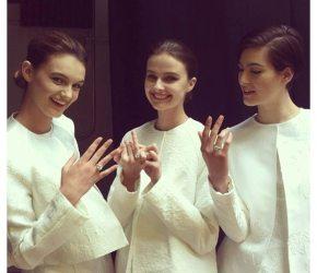 Priti NYC at Bridal Fashion Week Spring 2014