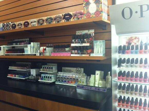The nail aisle!