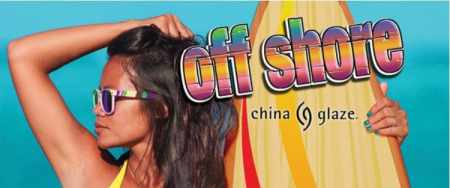 36 China Glaze Off Shore