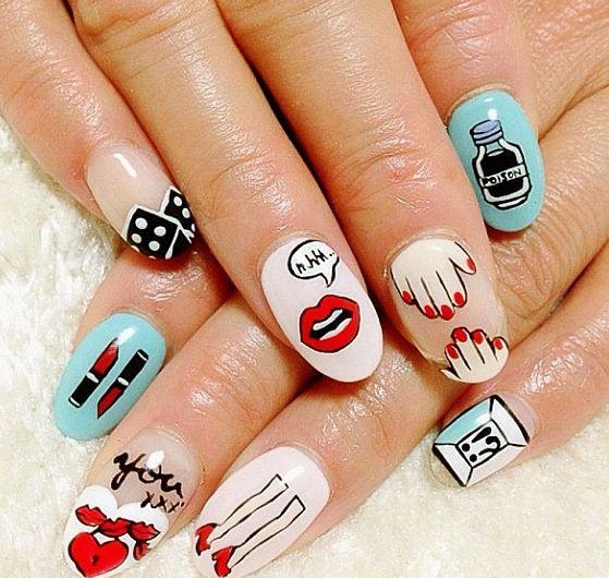 Yazbukey nail art