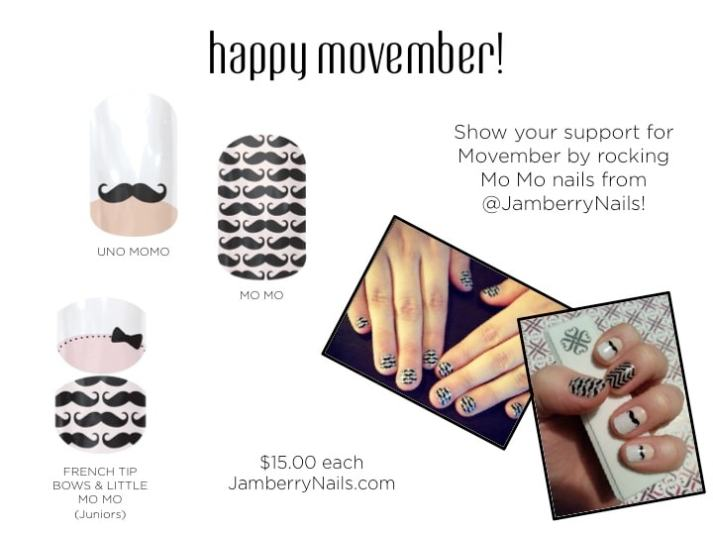 Jamberry Movember