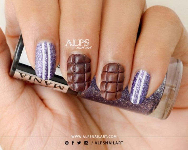 Mani Monday Chocolate Nail Art Salon Fanatic