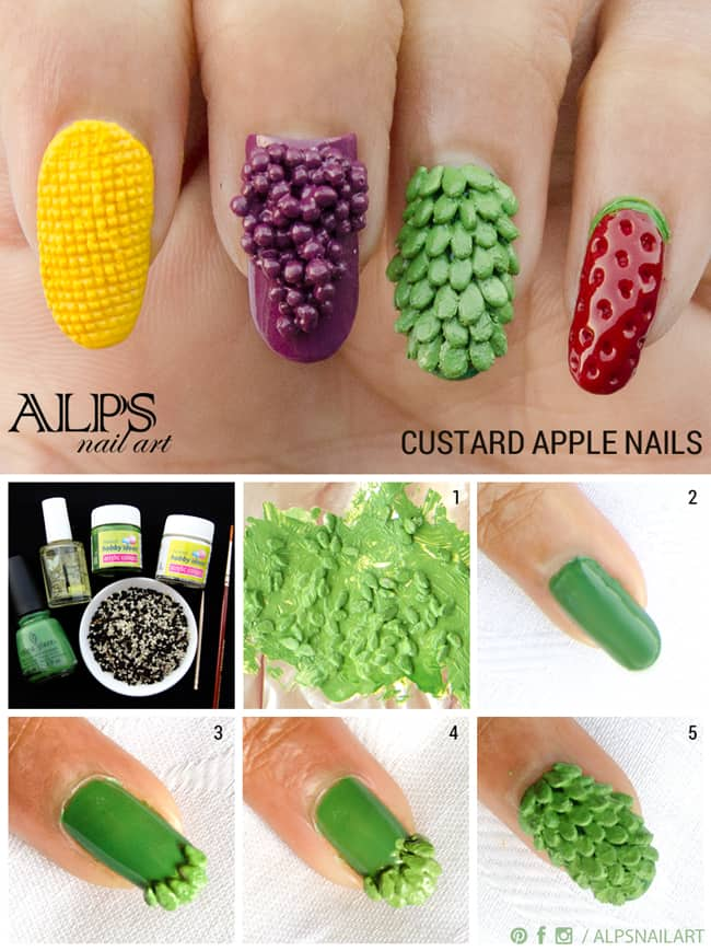 custard-apple-nails