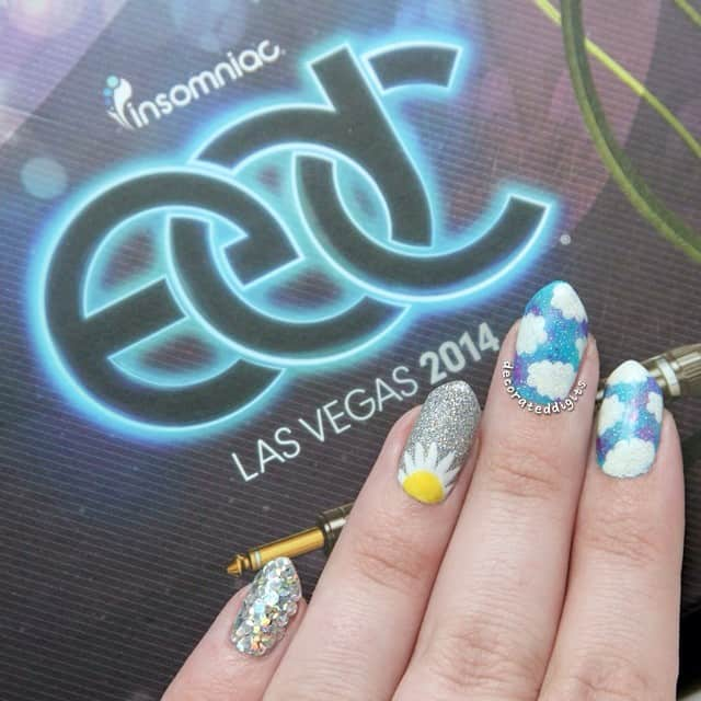 Rave Nail Art Ideas