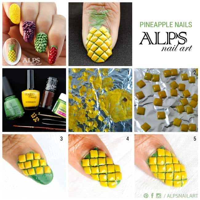 pineapple-nails-ig