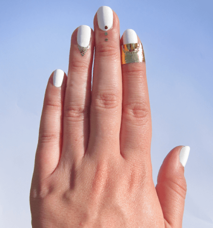 rad nails gold
