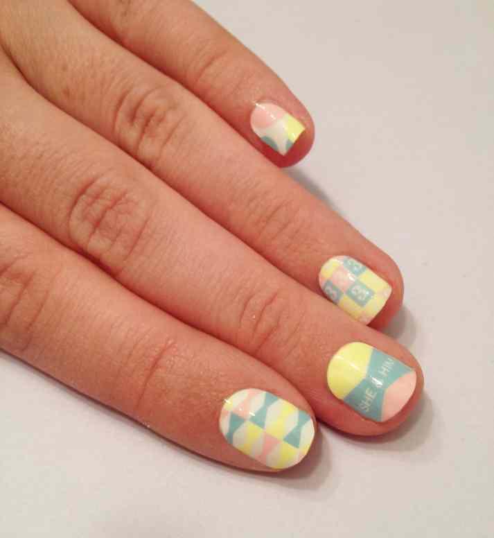 She & HIm Rad Nails