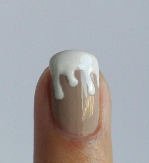 champagne & caviar nail art
