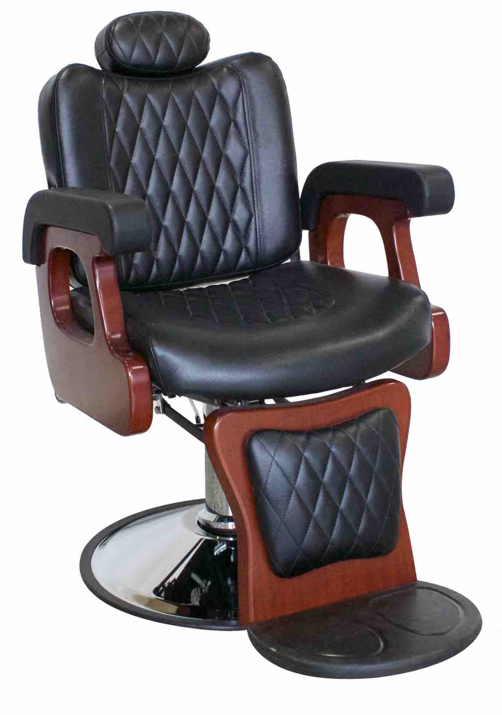 headrest for barber chair hanging mexico hackney all purpose with recline optional