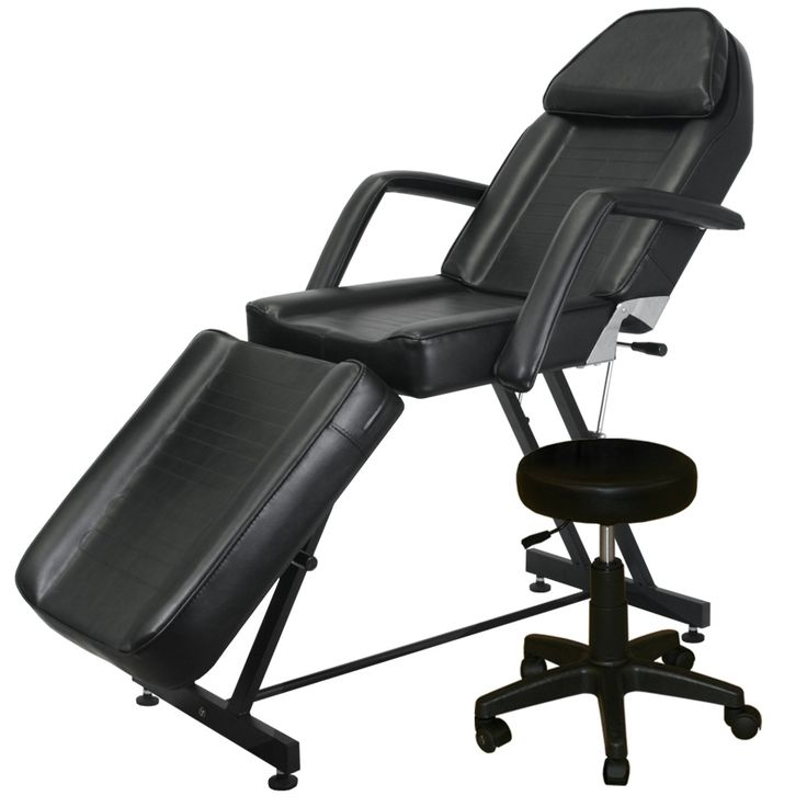 tattooing chairs for sale parson chair covers canada 3321 black esthetic or tattoo bed salon furniture toronto usf