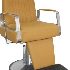 Headrest For Barber Chair Beach Recliner Titus With Black Salon Furniture