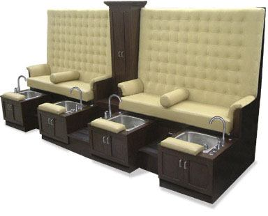 King Pedicure Spa bench
