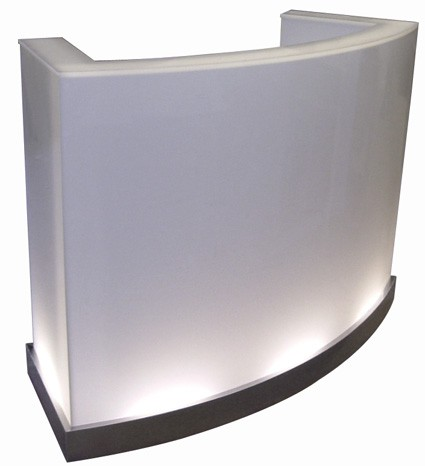 Ghost Podium Desk Design X Mfg  Salon Equipment Salon