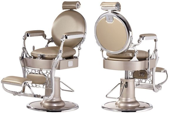 Vintage Panamera Barber Chair Design X Mfg  Salon