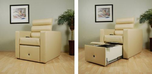 H2O Relax Lounge Pedicure Chair
