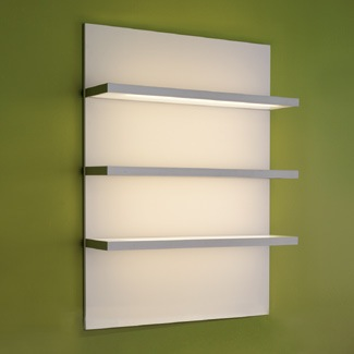 Pod Display Case in White with Lighting Design X Mfg