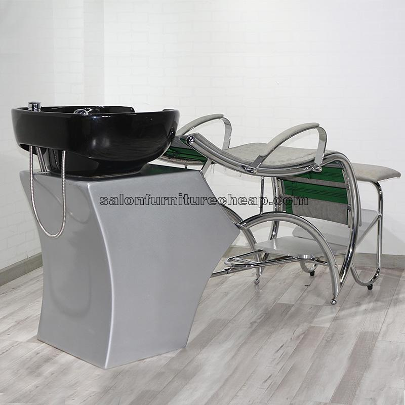 shampoo sink and chair how to protect wood floors from chairs salon bowl backwash