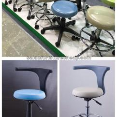 Revolving Chair For Doctor White Leather Office Uk Portable Dental Furniture Dentist Stool Manufacturers Provides A Seat Height Range Of 4 Five Legs Cast Steel Base Adds Increased Stability 5 Smooth Running Dual Castors