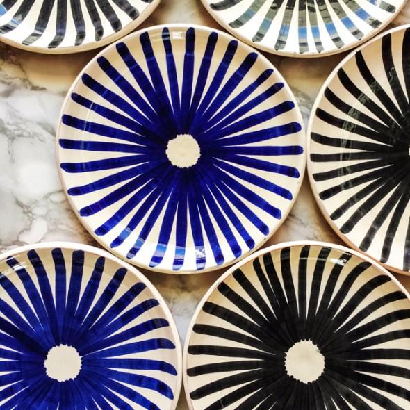 Casa Cubista Keramik Keramikteller Ray