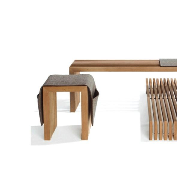 Raumgestalt Holzmöbel Massivholz Lamellen