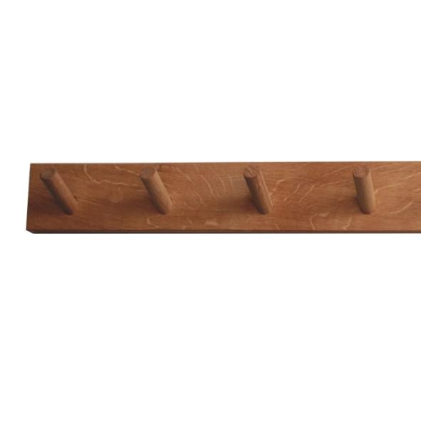 Raumgestalt Wandleiste Wandgarderobe aus Eichenholz
