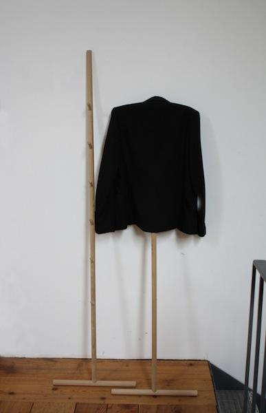 Kleiderstiel Lehngarderobe Raumgestalt
